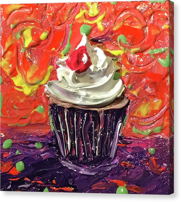 Related product : Funfetti Cupcake  - Canvas Print