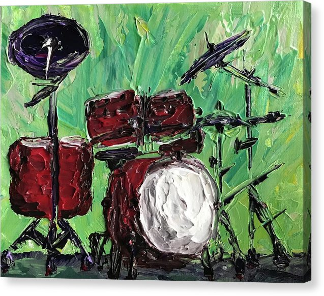 Funky Drums - Canvas Print
