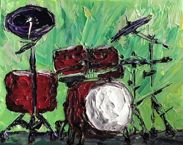 Related product : Funky Drums - Art Print