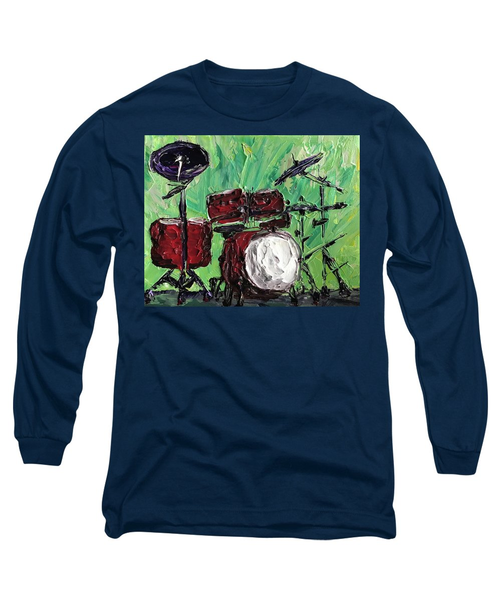 Funky Drums - Long Sleeve T-Shirt