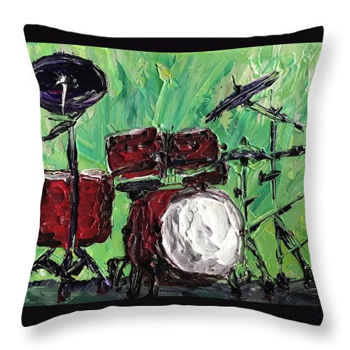 Related product : Funky Drums - Throw Pillow