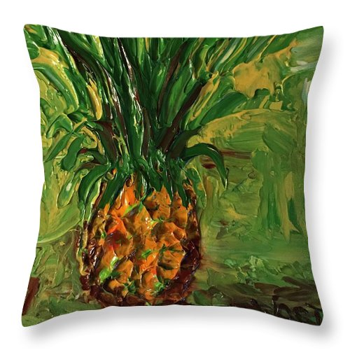 Funky Pineapple - Throw Pillow