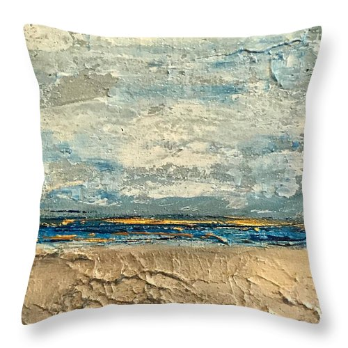 Gold Beach - Throw Pillow