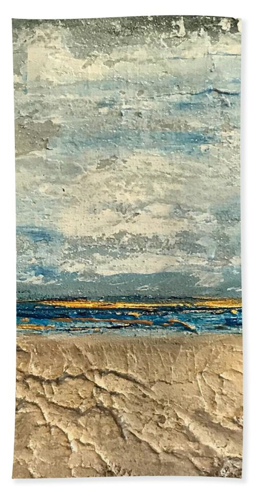Gold Beach - Beach Towel