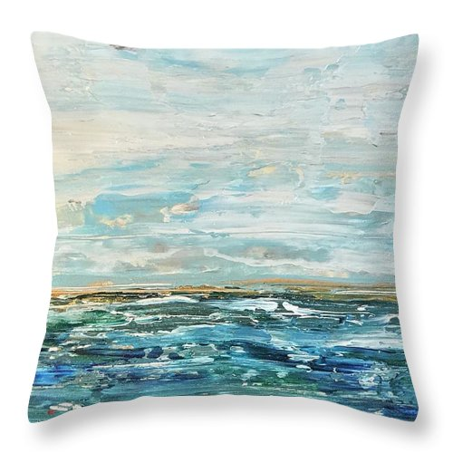 Related product : Gold Ocean - Throw Pillow