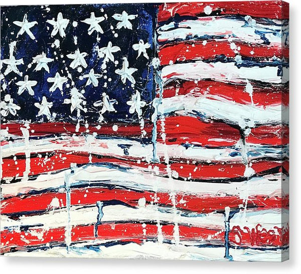 Related product : Home Of The Brave - Canvas Print