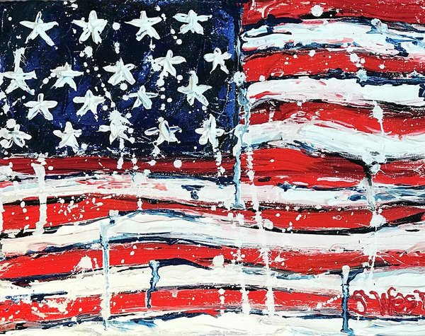 Related product : Home Of The Brave - Art Print