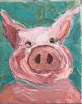 """Piggy""- Artwork"