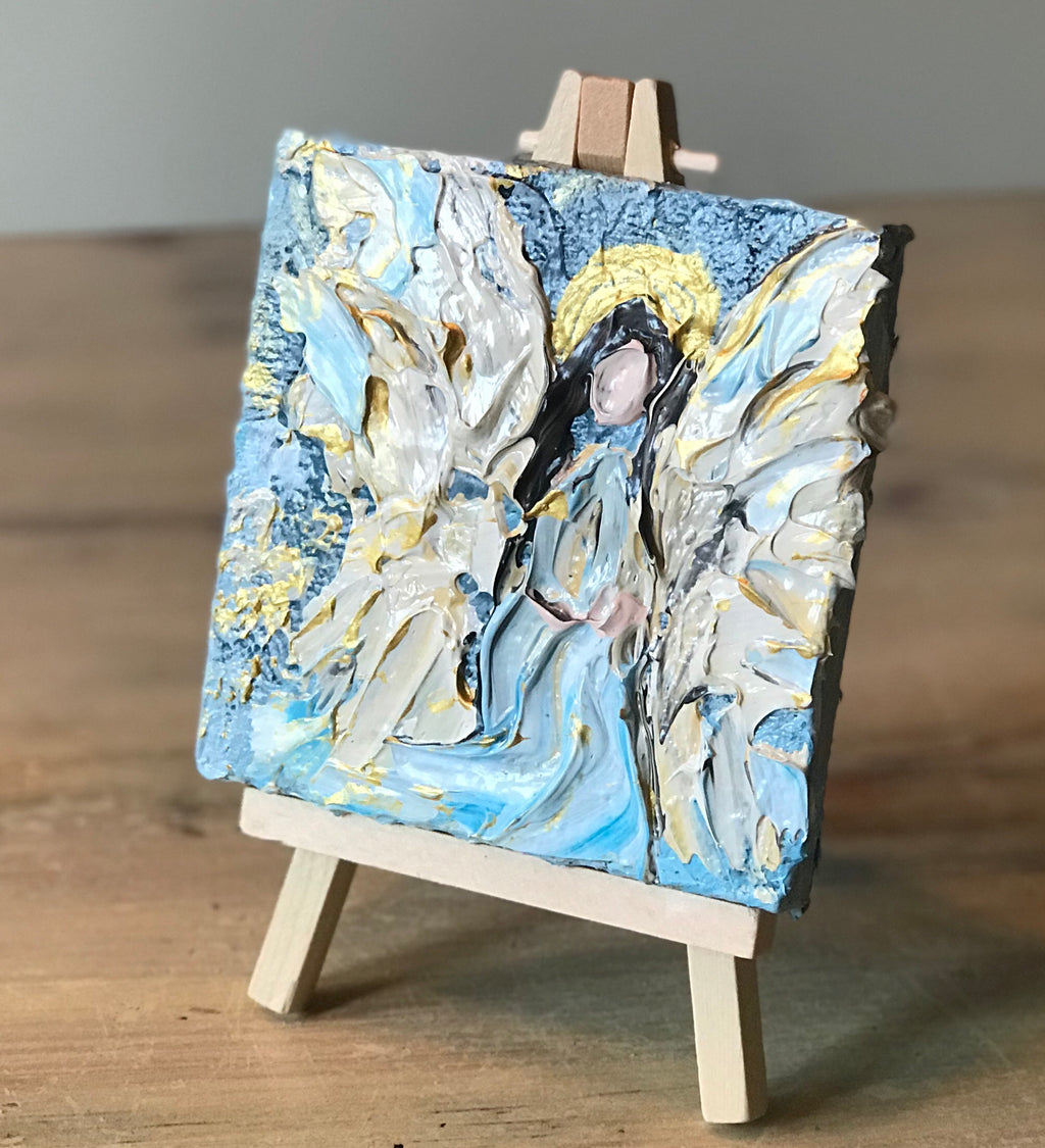 Angel on Easel
