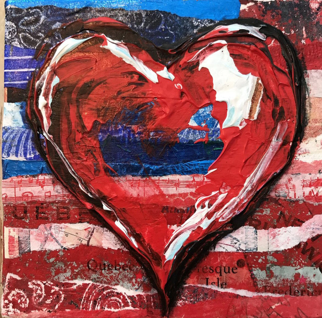 """American Heart One""- Artwork"
