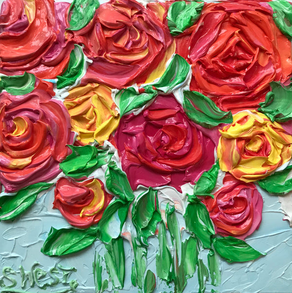 Related product : Celebration Roses - Artwork