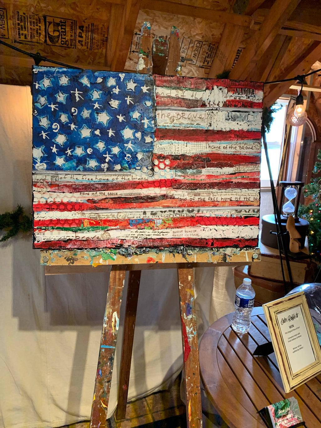 Land of the Free Home of the Brave - Artwork