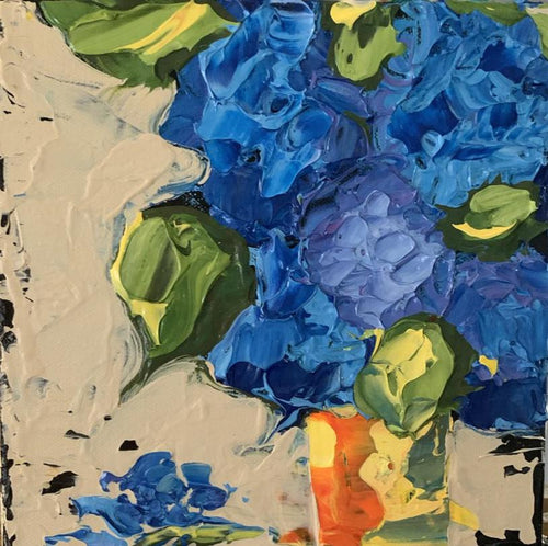 "New! Hydrangea Love  8x8x1.5"" - Artwork"