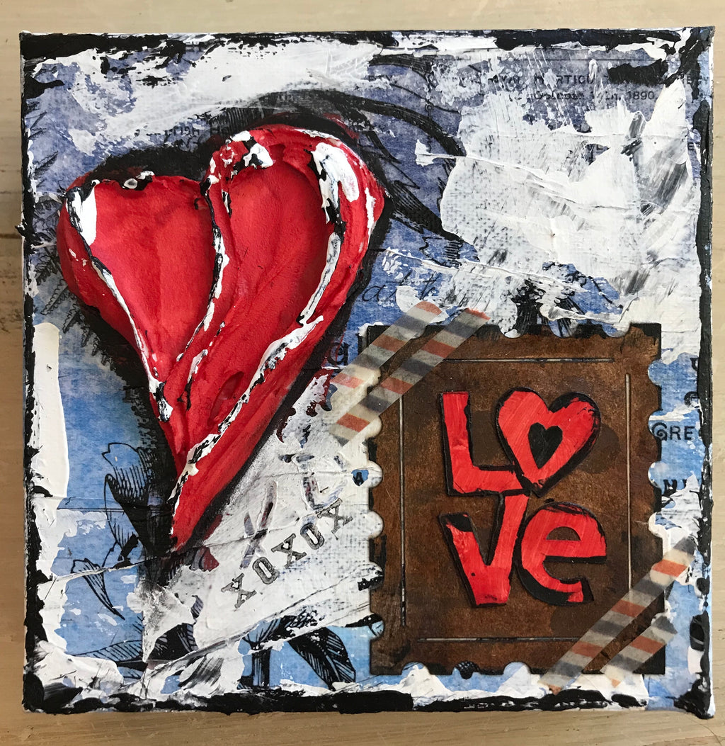 """Love and Heart""- Artwork"