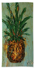 King Pineapple  - Beach Towel