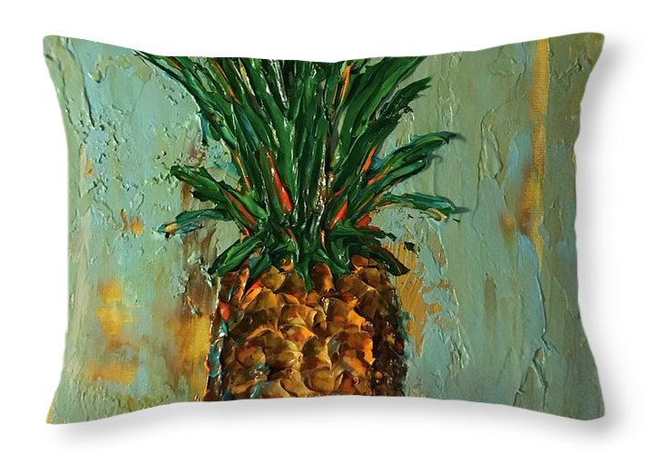 King Pineapple  - Throw Pillow