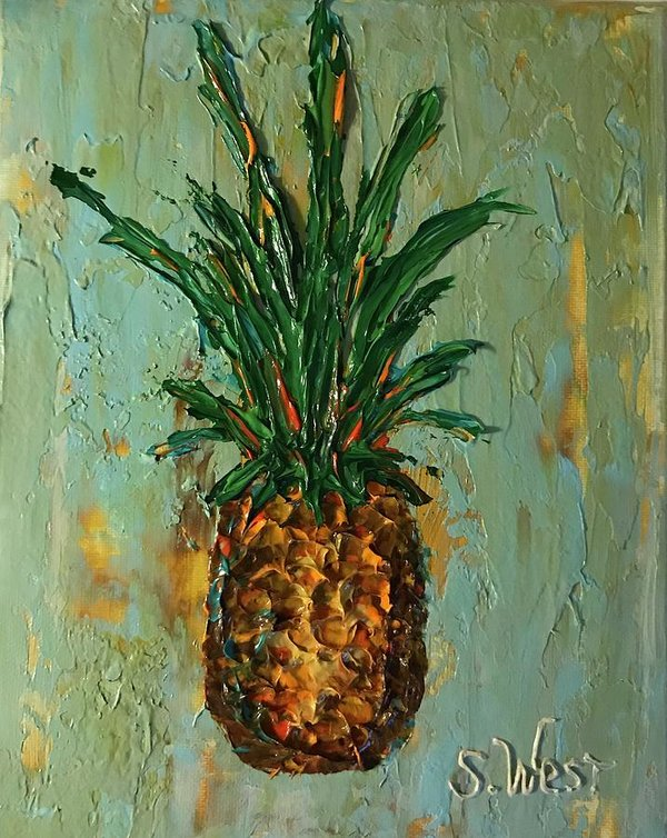 King Pineapple  - Art Print