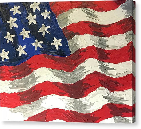 Related product : Land Of The Free - Canvas Print