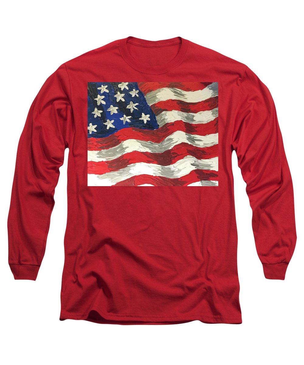 Land Of The Free - Long Sleeve T-Shirt
