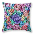 Lavender Flower Bomb - Throw Pillow