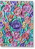 Lavender Flower Bomb - Greeting Card