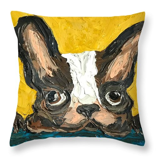 My Lil Frenchy - Throw Pillow