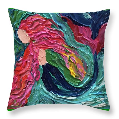 My Mermaid - Throw Pillow
