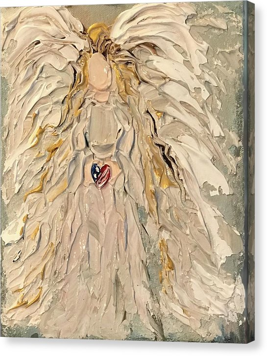 My Patriot Angel - Canvas Print