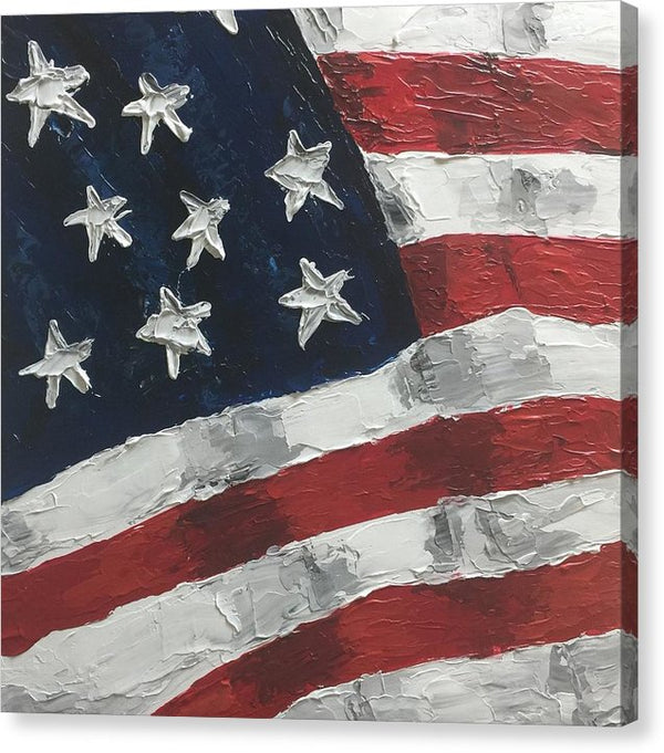 Related product : Old Glory - Canvas Print