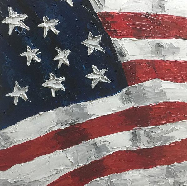 Related product : Old Glory - Art Print