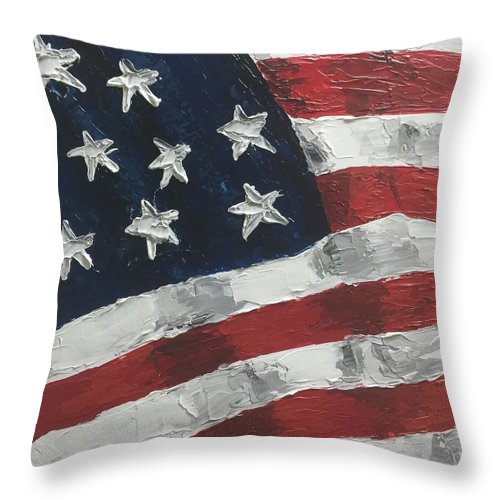 Old Glory - Throw Pillow