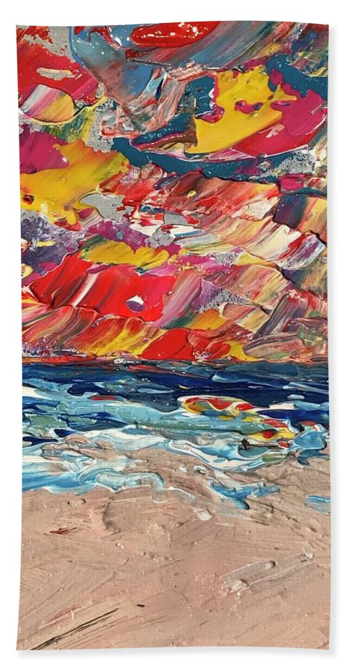 Passion Sunrise - Beach Towel