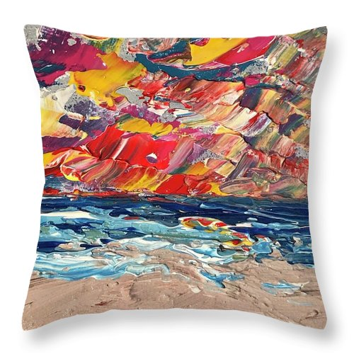 Passion Sunrise - Throw Pillow