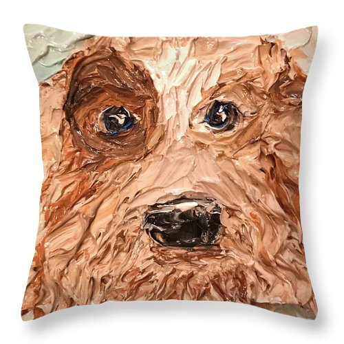 Related product : Patchy Doodle - Throw Pillow
