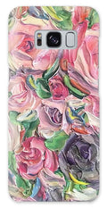 Rose And Peony Flower Bomb - Phone Case