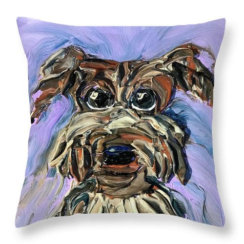 Schatzi - Throw Pillow