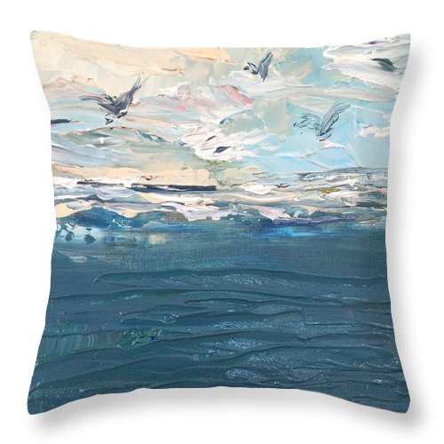 Related product : Sea Birds - Throw Pillow