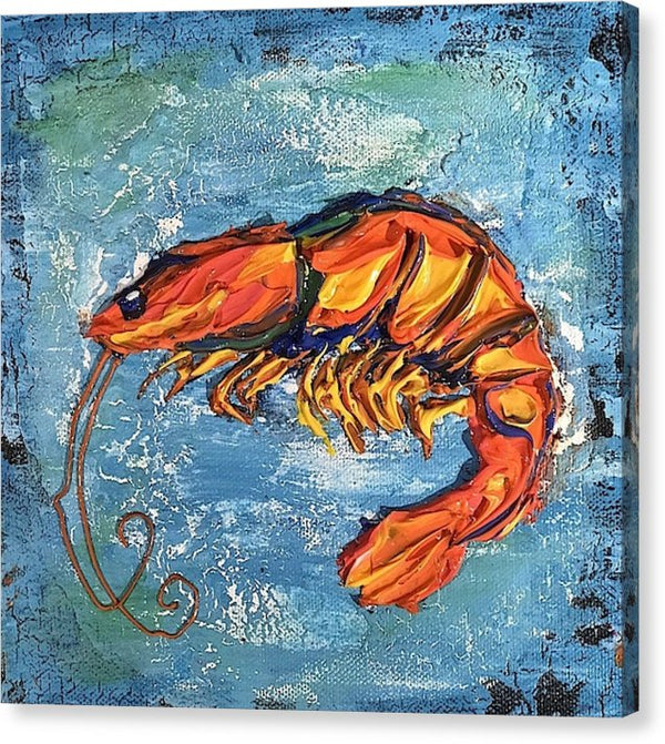 Related product : Shrimp - Canvas Print