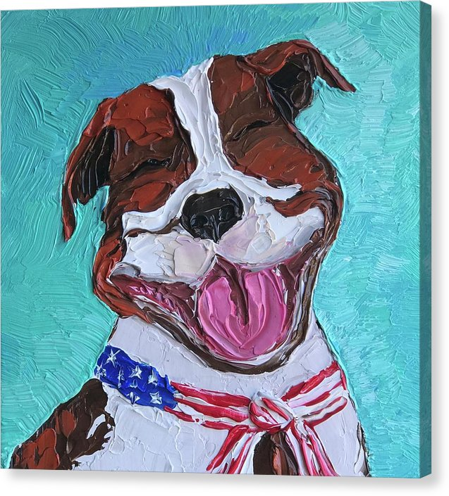 That Pitty Smile - Canvas Print