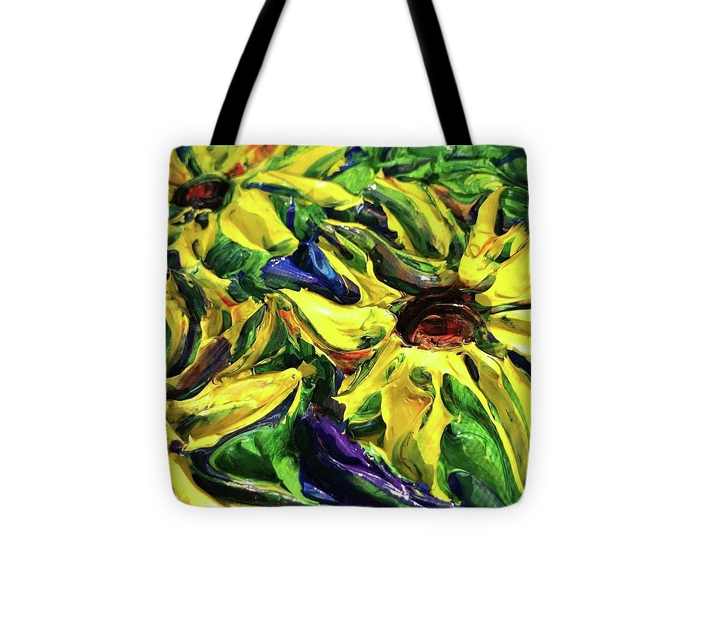 Sunny Flowers - Tote Bag