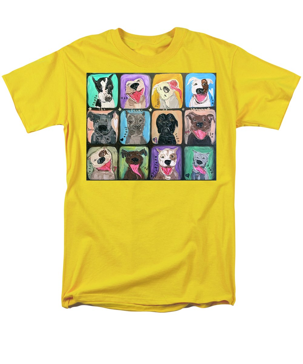 The Faces Of Rescue  - Men's T-Shirt  (Regular Fit)