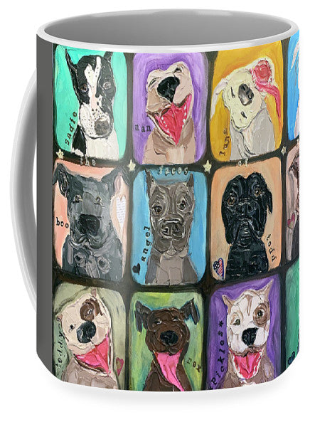 The Faces Of Rescue  - Mug