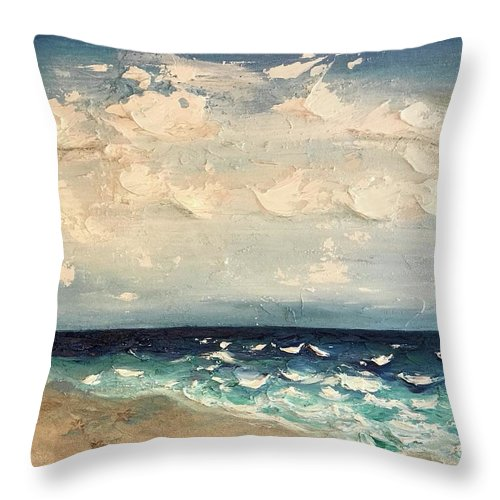 Three Starfish - Throw Pillow