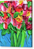 Tulip Party - Canvas Print