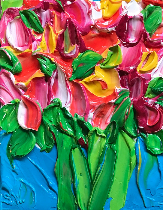 Tulip Party - Art Printable Download