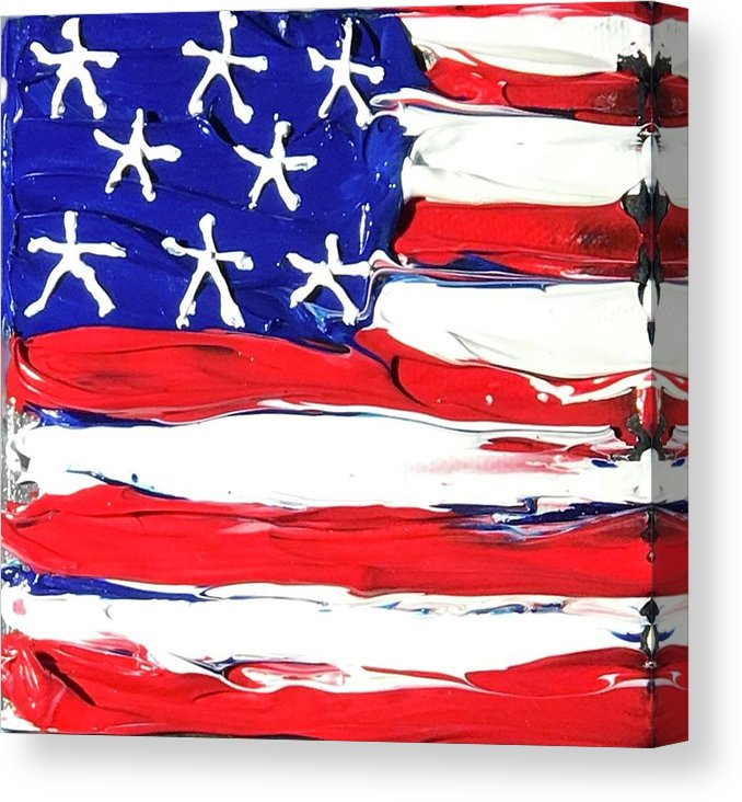 USA - Canvas Print