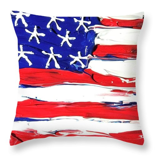 Related product : USA - Throw Pillow