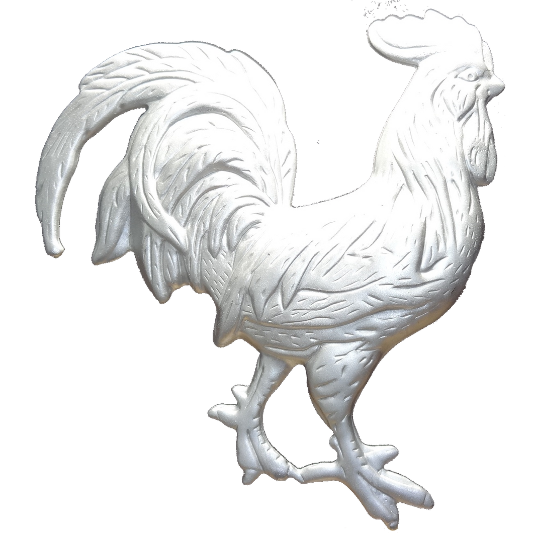 PS-1130, PotStick Art Kit - Rooster - 5-1/2 H