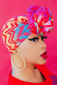 In Living Color Head Scarf