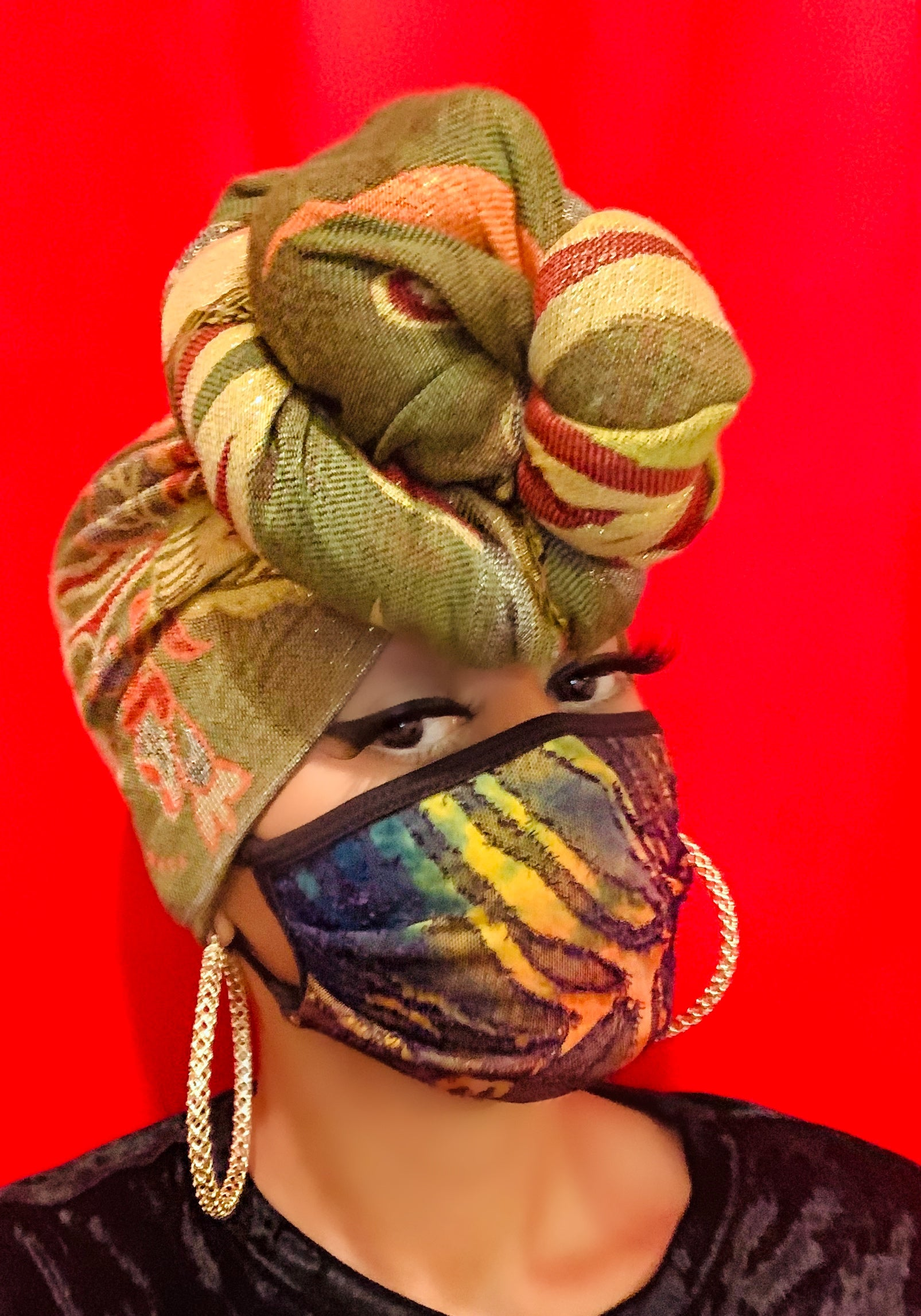 Royalty Head Scarf (Olive)